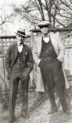 George and Lou Towne in the 1950s